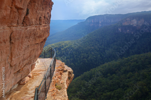 Foto  The Blue Mountains in New South Wales, Australia