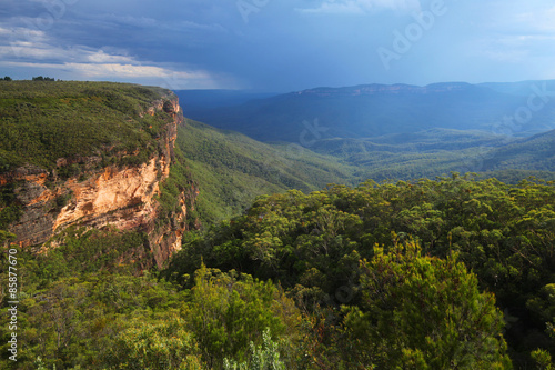 The Blue Mountains in New South Wales, Australia Canvas