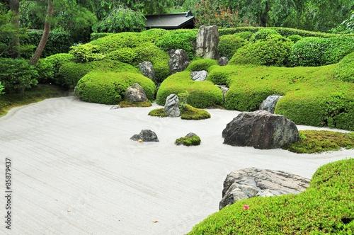 Photo sur Plexiglas Zen pierres a sable 枯山水