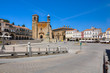 View of the Main Square of Trujillo, tourism in Spain