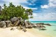 Beautiful tropical beach on Karimunjawa island, Indonesia