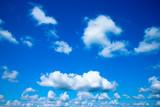 Piękny błękit nieba
