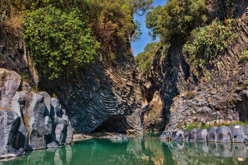 Photo Alcantara Gorge