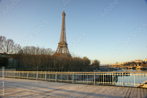 Printed kitchen splashbacks Paris monument 101