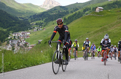 Cadres-photo bureau Cyclisme Cycling in the italian Alpi