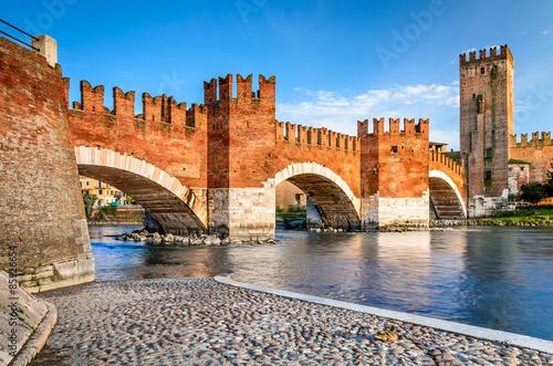 Photo Ponte Scaligero, Verona, Italy