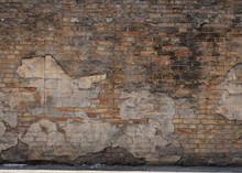 Muro Di Mattoni Vintage