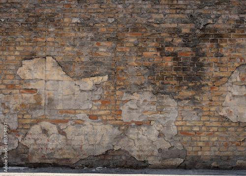 Obraz na płótnie muro di mattoni vintage