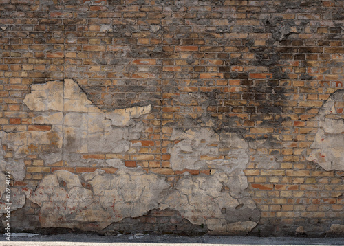 Fotografie, Tablou muro di mattoni vintage