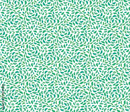 Photographie Beautiful seamless Pattern of green leaves
