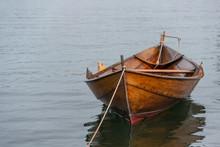 Moored Row Boat