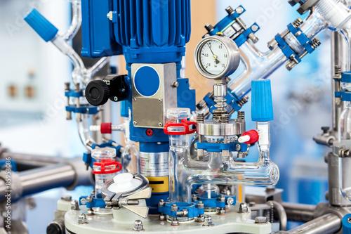 Fotografia  Basic Glass Reactor system for Pilot Plants