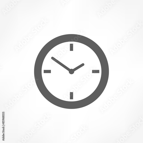 Fotografía  clock icon