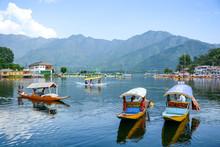 Dal Lake At Srinagar, Kashmir,...