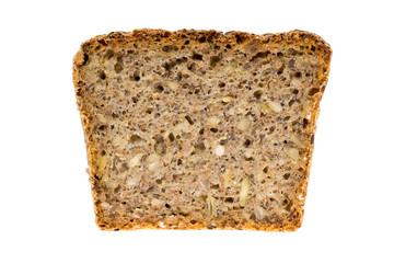 kromka chleba razowego