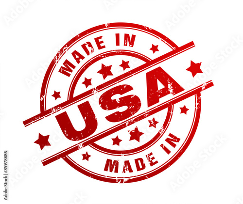 Photographie  made in usa stamp