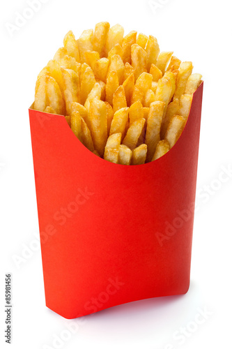 French fries. Poster