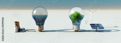 Foto  bulb and ecosystems