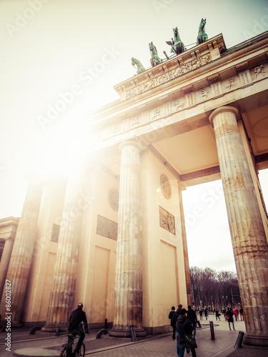 Zdjęcie XXL Brama Brandenburska, Berlin