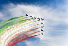 Italian Tricolor Arrows At Air...