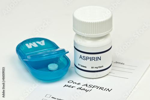 Daily Aspirin Canvas Print