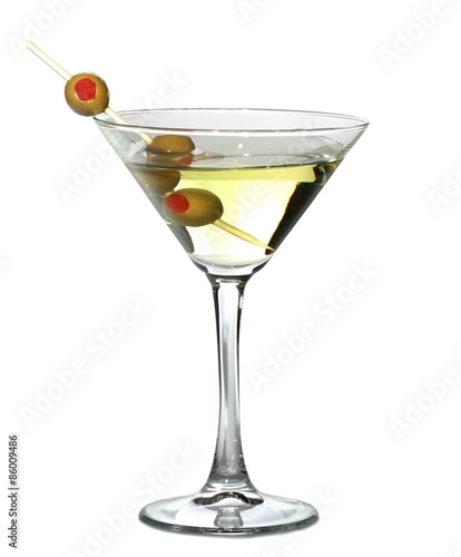 Fotomural  Martini, Cocktail, Martini Glass.