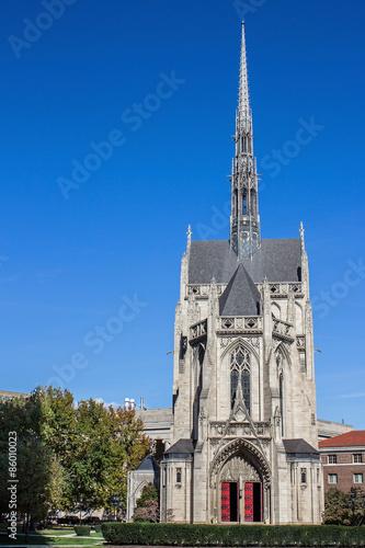 Fotografie, Obraz  Heinz Chapel - Gothic Architecture of Pittsburghs Historic and Grandiose Heinz C