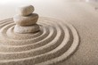 Zen, stone, spa.