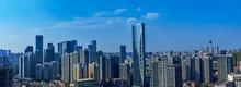CHENGDU,CHINA - May 2,2015:city Panorama Of Chengdu,china.One Of