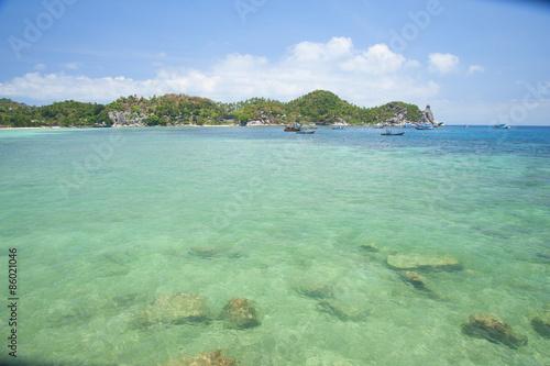 Papiers peints Tropical plage Summer Beach on the Island