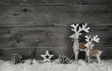 Weihnachtliche Grußkarte Im S...