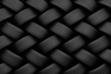 Black Tire Rubber.