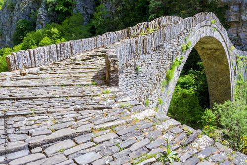 Keuken foto achterwand Bruggen Old stone bridge of Noutsos, Epirus (Greece)