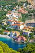 Assos village, Kefalonia island, Greece