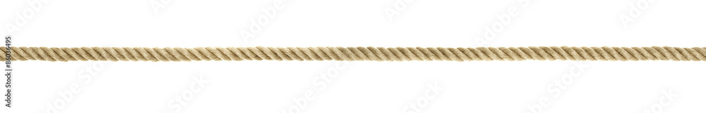 Fototapety, obrazy: Seil Detail Querformat ohne Knoten