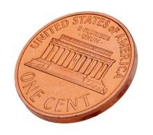 Penny, Coin, USA.