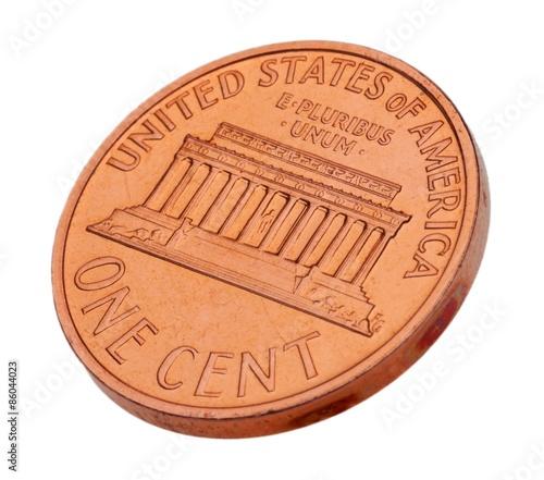 Cuadros en Lienzo Penny, Coin, USA.