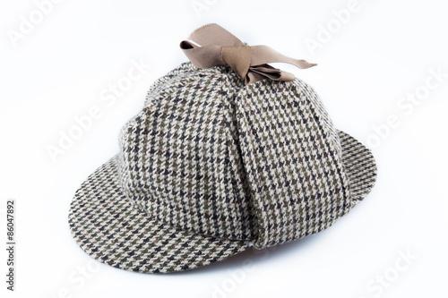 Cuadros en Lienzo Sherlock Holmes, Hat, Crime.