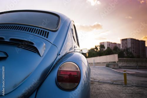 Volkswagen beetle. Poster