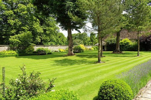 obraz lub plakat Formal English Garden