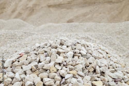 Fotografía  Pile of rubble and stones