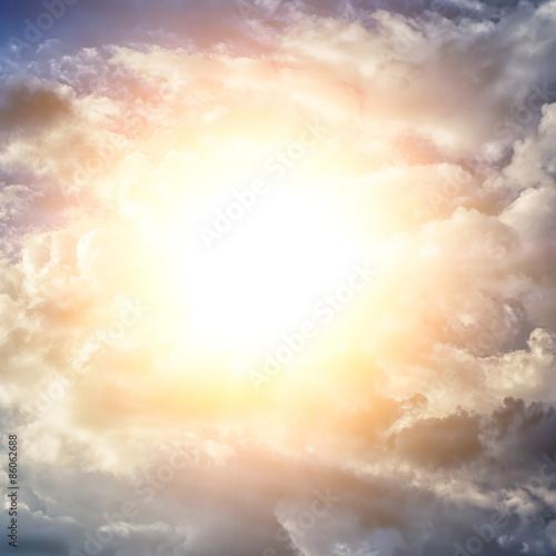 sky clouds - 86062688