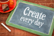 Create every day motivational reminder