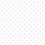 Dachówka wektor wzór z różowe kropki na białym tle - 86066865