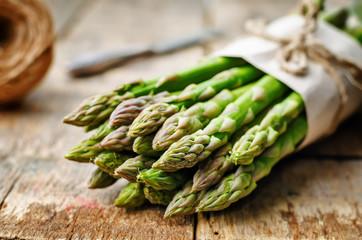 Panel Szklany Warzywa asparagus