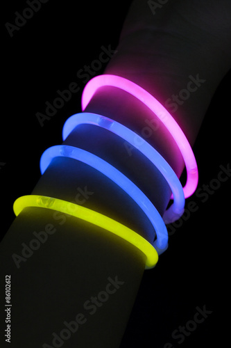 Fotomural Glow sticks