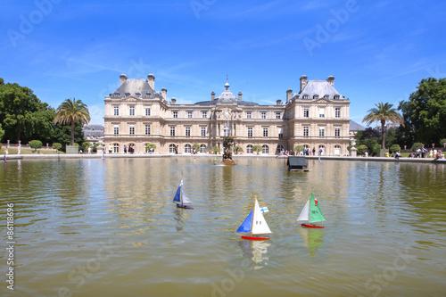 Papiers peints Jardin Paris / Jardin du Luxembourg - Sénat