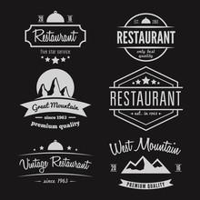 Set Of Different Logo, Label, ...