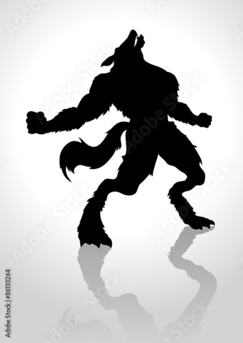 Werewolf Fototapeta