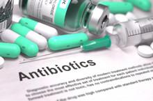 Antibiotics. Medical Concept W...